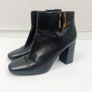 Michael Kors 'Gloria' Ankle Heeled Boots in Black